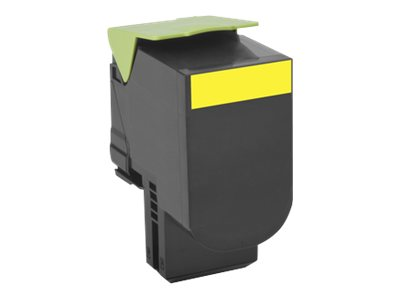 801SY Yellow Standard Yield Return Program Toner Cartridge